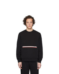 Sweat-shirt noir Moncler