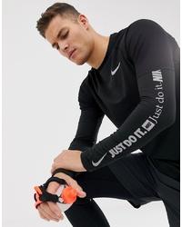 Sweat-shirt noir Nike Running