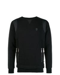 Sweat-shirt noir Philipp Plein