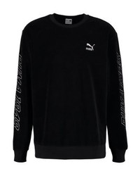 Sweat-shirt noir Puma