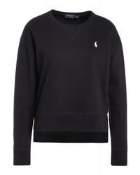 Sweat-shirt noir Ralph Lauren