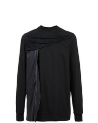 Sweat-shirt noir Rick Owens