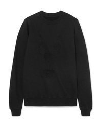 Sweat-shirt noir Rick Owens