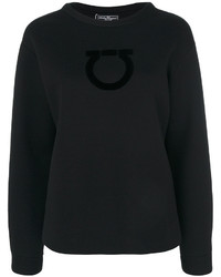 Sweat-shirt noir Salvatore Ferragamo