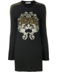 Sweat-shirt noir Versace