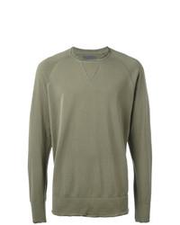 Sweat-shirt olive Laneus