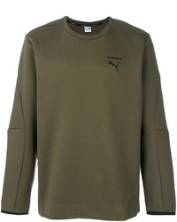 Sweat-shirt olive Puma