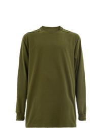 Sweat-shirt olive Rick Owens