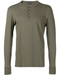 Sweat-shirt olive Tom Ford