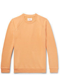 Sweat-shirt orange