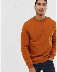 Sweat-shirt orange ASOS DESIGN
