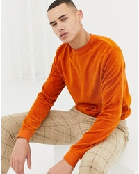 Sweat-shirt orange D-struct
