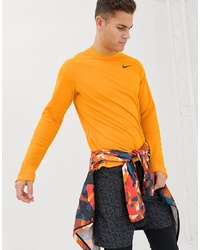 Sweat-shirt orange Nike Running