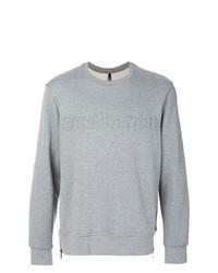 Sweat-shirt orné gris Neil Barrett