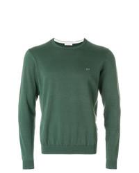 Sweat-shirt orné vert Sun 68