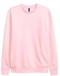 Sweat-shirt rose