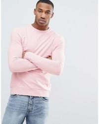 Sweat-shirt rose Asos