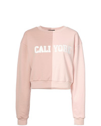 Sweat-shirt rose Cynthia Rowley