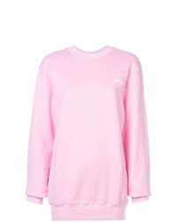 Sweat-shirt rose Fiorucci