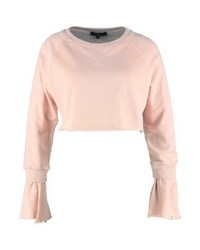 Sweat-shirt rose Missguided