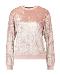 Sweat-shirt rose Second Script Petite