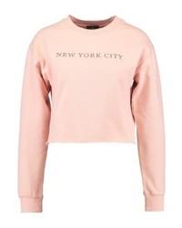 Sweat-shirt rose Topshop