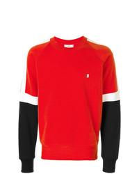 Sweat-shirt rouge AMI Alexandre Mattiussi