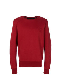 Sweat-shirt rouge Calvin Klein Jeans