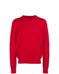 Sweat-shirt rouge Maison Margiela
