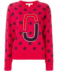 Sweat-shirt rouge Marc Jacobs