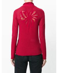 Sweat-shirt rouge Twin-Set