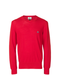 Sweat-shirt rouge Vivienne Westwood