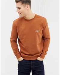 Sweat-shirt tabac New Look