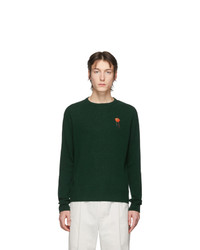 Sweat-shirt vert foncé Acne Studios