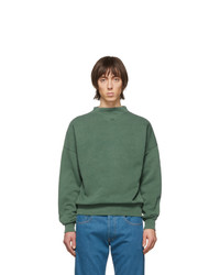 Sweat-shirt vert foncé Isabel Marant