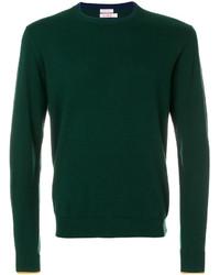 Sweat-shirt vert foncé Sun 68