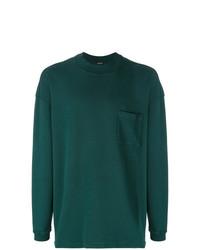 Sweat-shirt vert foncé Yeezy