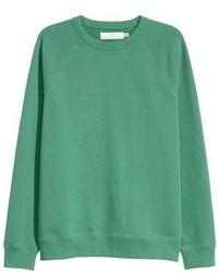 Sweat-shirt vert menthe
