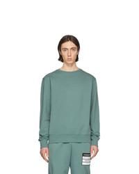 Sweat-shirt vert menthe Maison Margiela