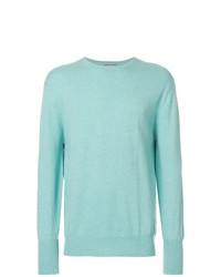 Sweat-shirt vert menthe N.Peal