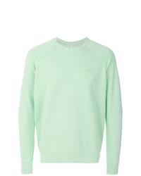 Sweat-shirt vert menthe Sun 68