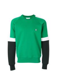 Sweat-shirt vert AMI Alexandre Mattiussi