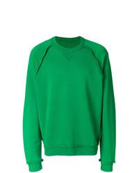 Sweat-shirt vert Maison Margiela