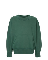 Sweat-shirt vert Mr. Completely