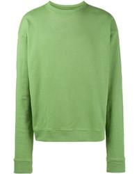 Sweat-shirt vert The Elder Statesman
