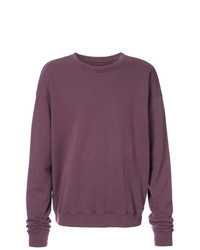 Sweat-shirt violet
