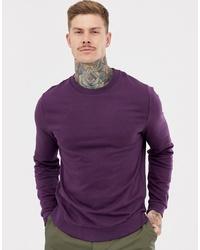 Sweat-shirt violet ASOS DESIGN