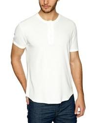 T-shirt à col boutonné blanc Levi's
