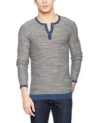 T-shirt à col boutonné bleu clair camel active
