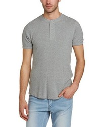 T-shirt à col boutonné gris Levi's